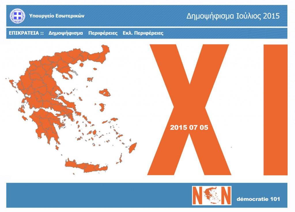 Grèce-OXI-