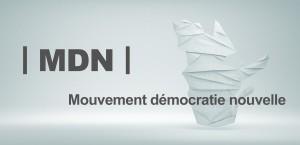 MDN | Mouvement démocratie nouvelle