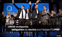 Union de COALITION multipartite et les partielles du 8 juin 2015 | les chiffres |