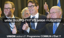 La tentation UNITARISTE péquiste vs l'UNION multipartite