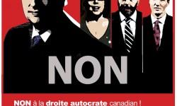 DÉMOCRATIE québécois VS drte & gauche néo-AUTOCRATE canadian