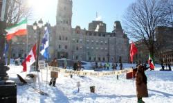 La Place du Peuple Souverain du Québec | le parvis de l'ANQ : haut lieu de la démocratie québécoise !