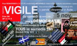 Agression armée Parvis de l'ANQ à Québec