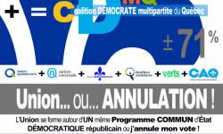 Mouvement citoyen Québec démocratie 101