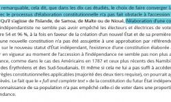 IRAI : étude des processus constituants